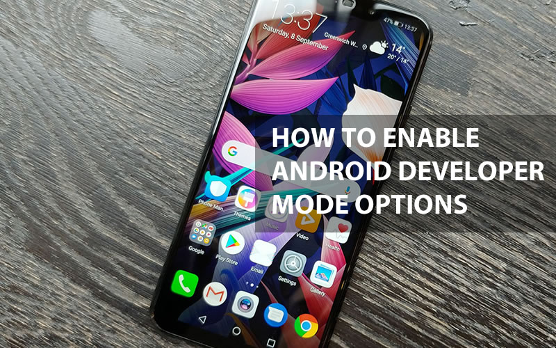 How To Enable Android Developer Mode Options in Huawei Mate 20 lite