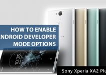 How To Enable Android Developer Mode Options in Sony Xperia XA2 Plus