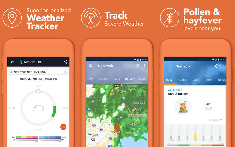 AccuWeather Daily Forecast and Live Weather Maps