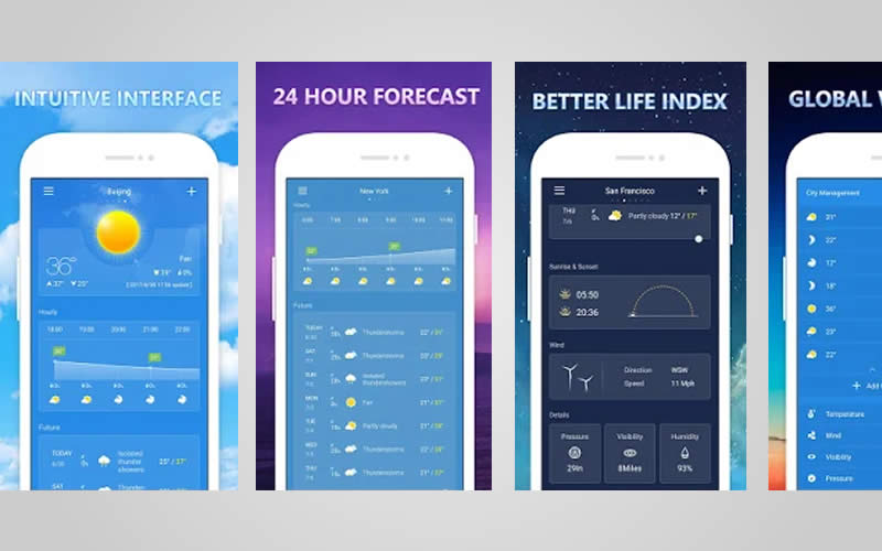 Weather - Top 5 Best Weather App for Android