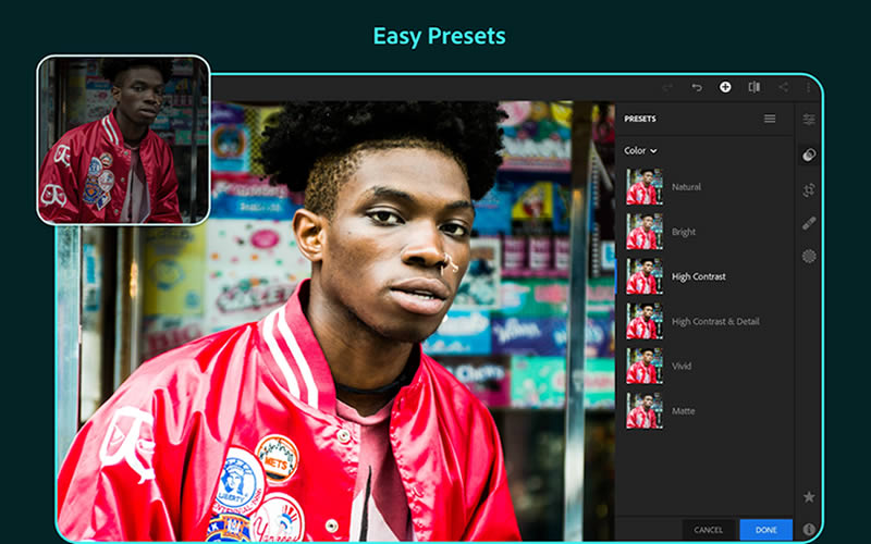 Adobe Lightroom - Photo Editor & Pro Camera - Best Photo Editing App for Android