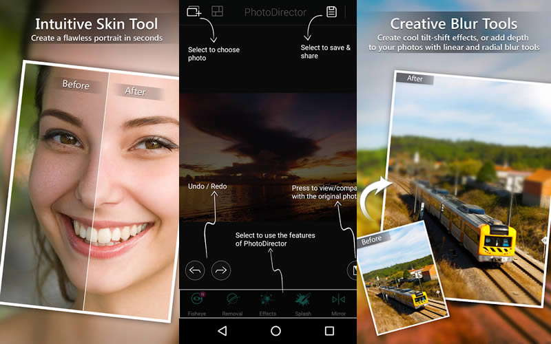PhotoDirector Photo Editor App, Picture Editor Pro By CyberLink
