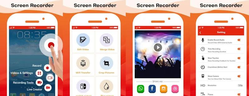 HD Screen Recorder - Audio Video Recorder by Avenue Techno