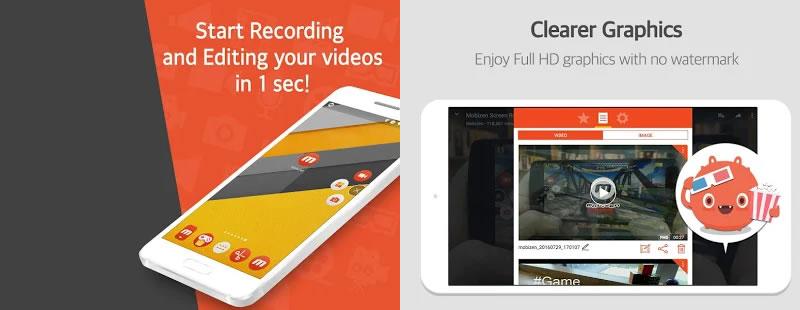 Mobizen Screen Recorder APK - Record, Capture, Edit