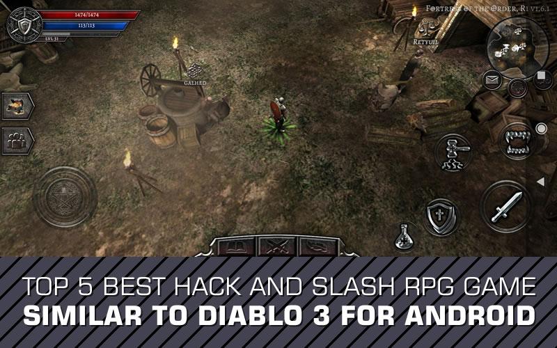 5 Best Hack n Slash RPG Game Similar To Diablo For Android