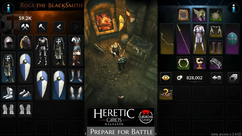 Heretic Gods - Action Role Playing Game