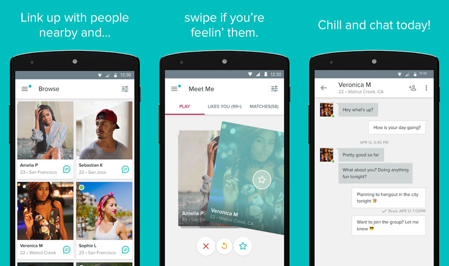 Tagged - Meet, Chat & Dating - Tinder Alternative Dating App