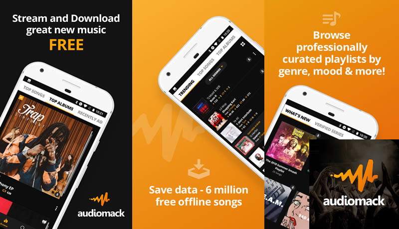 Audiomack- Download New Music Offline Free - Spotify Premium Apk Alternative App