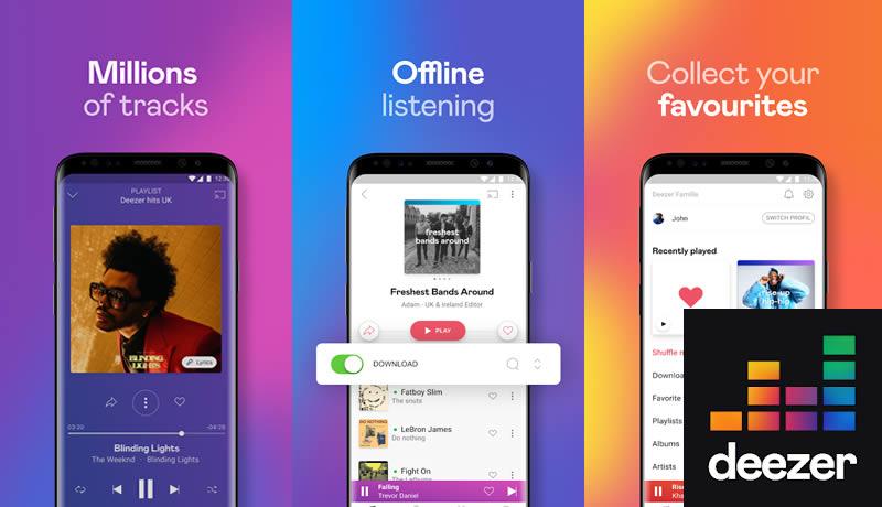 Deezer Music Player - Spotify Premium Apk Alternative App