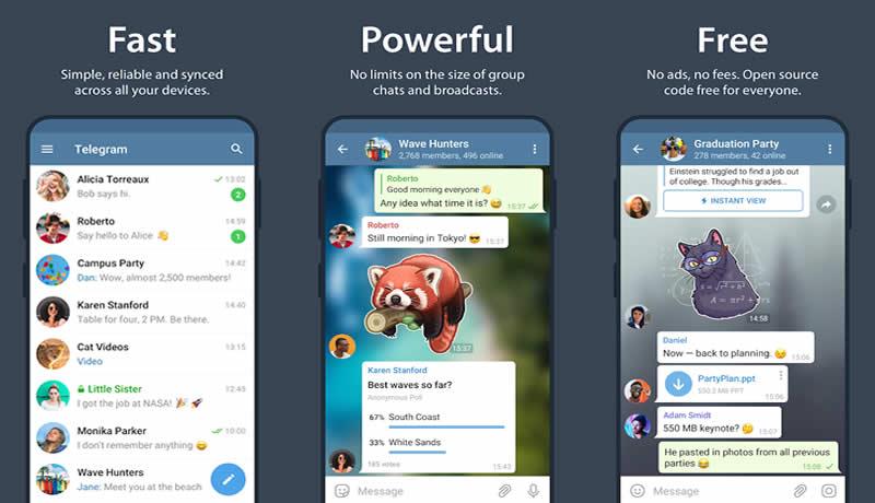 Telegram - WhatsApp Alternative