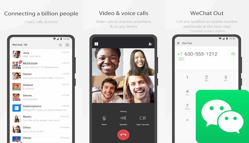 WeChat - WhatsApp Alternative