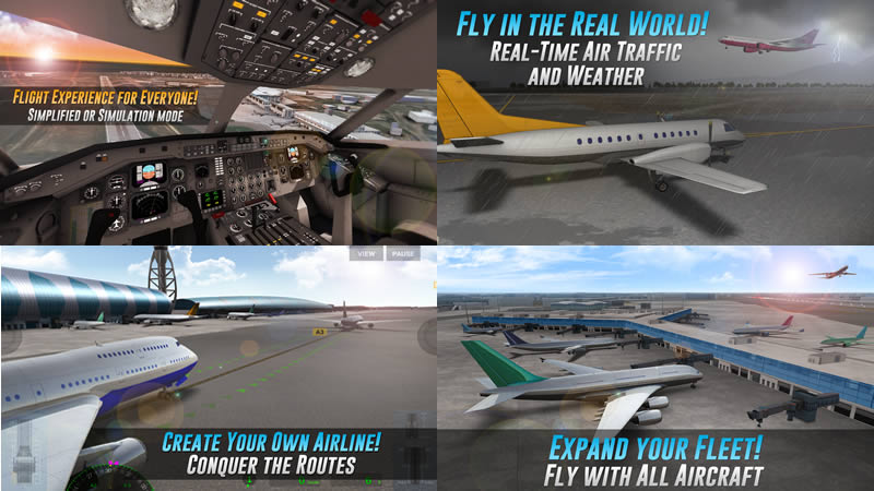 Airline Commander - A real flight experience - Best Airplane Simulator Games for Android