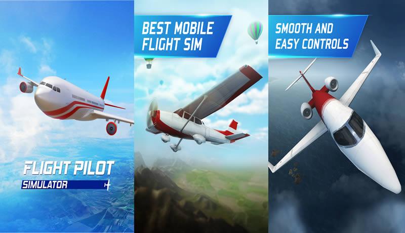 Flight Pilot Simulator 3D Free - Best Airplane Simulator Games for Android