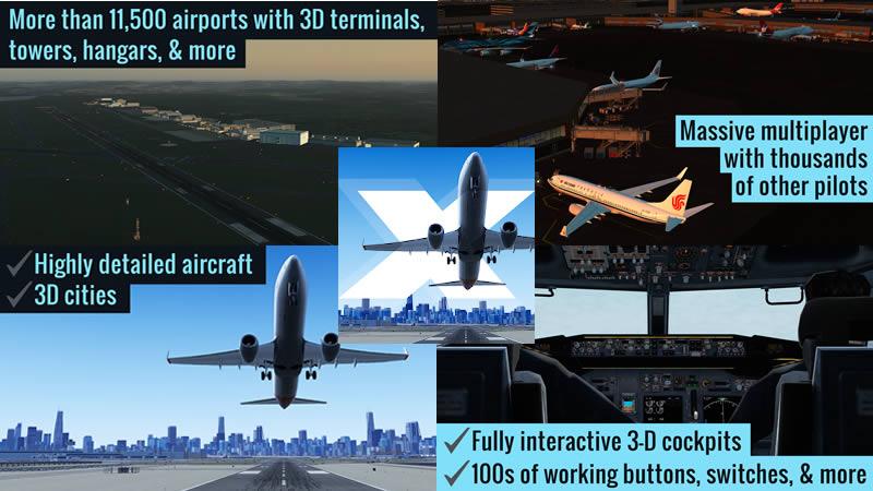 X-Plane Flight Simulator - Best Airplane Simulator Games for Android