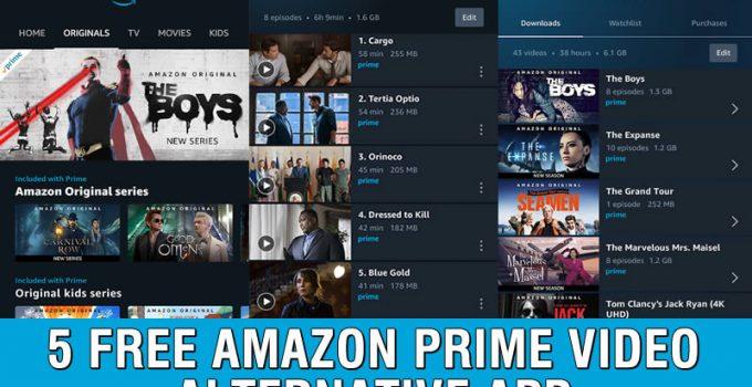 5 Free Amazon Prime Video Alternative App