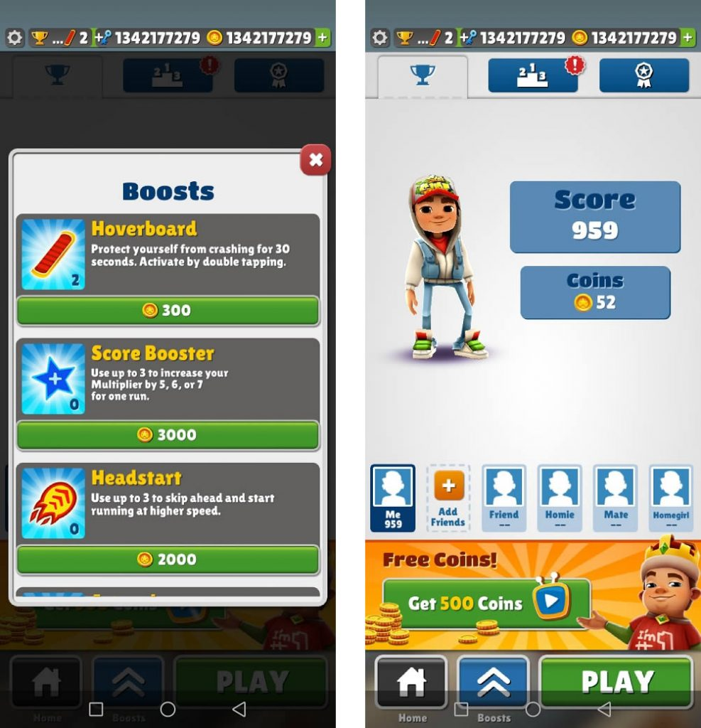 About Subway Surfers Mod
