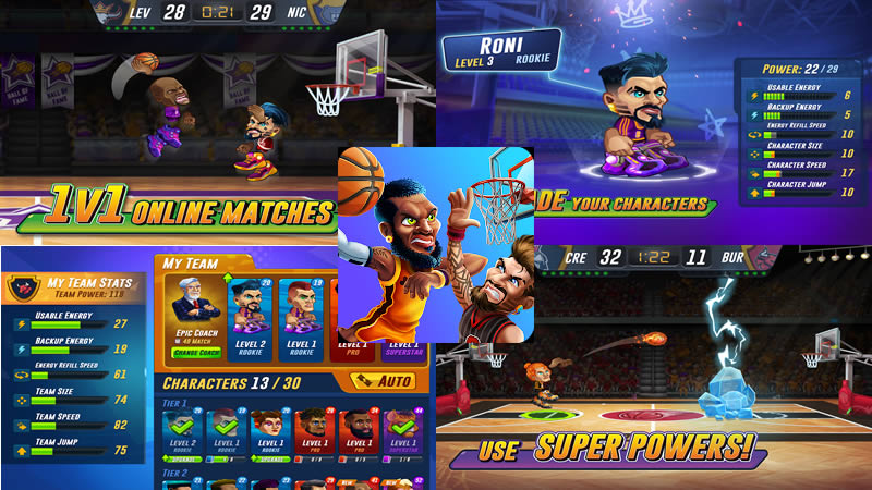 Download Basketball Arena Apk