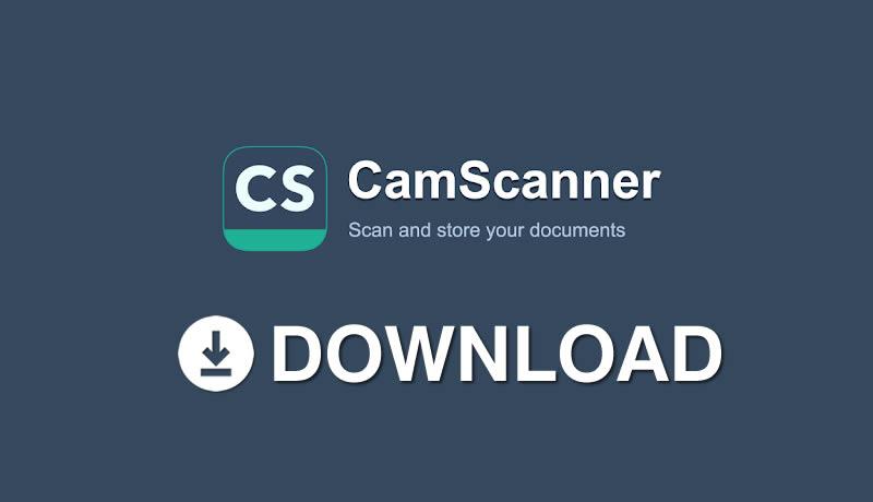 Download CamScanner APK Mod