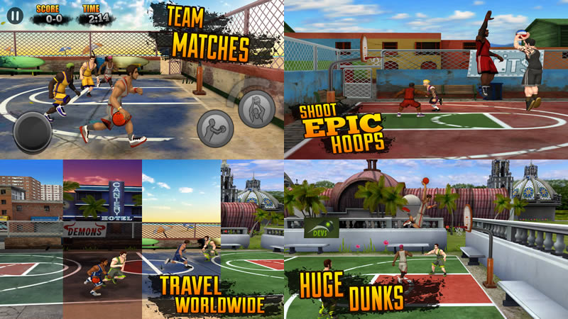 Download Jam League Basketball Apk