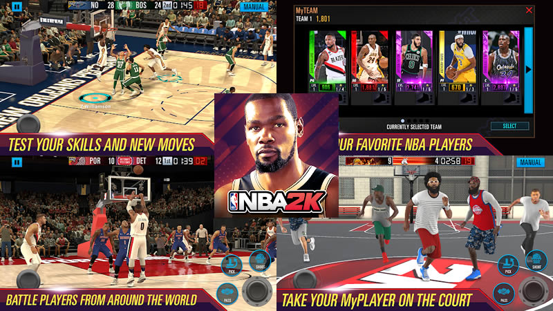 Download NBA 2K Mobile Basketball Apk