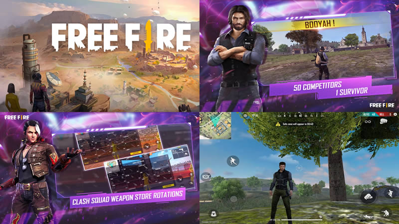 Garena Free Fire - 5 Best Fortnite Android Similar Games