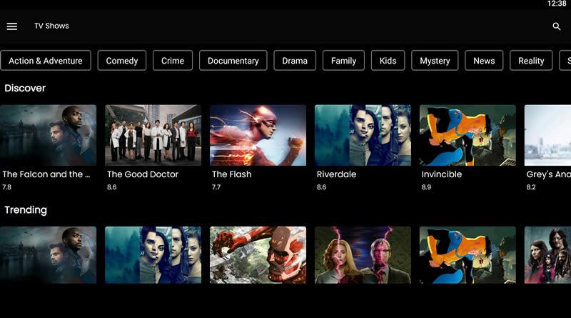 NovaTV Streaming App