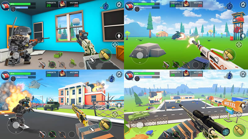 Pixel's Unknown Battle Ground - 5 Best Fortnite Android Similar Games