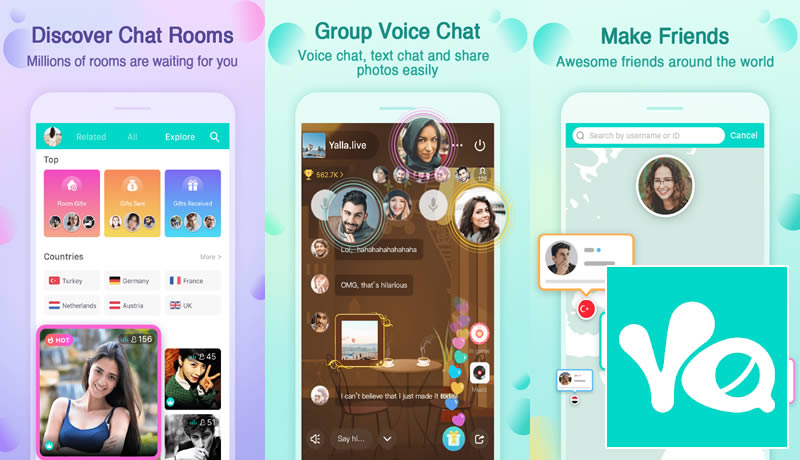Yalla - Clubhouse App Android Alternative