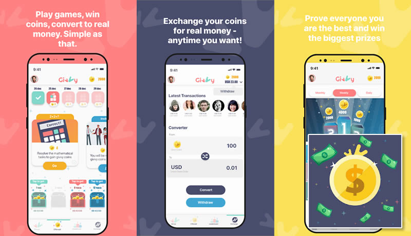 Earn money for Free with Givvy - Best Money Earning App