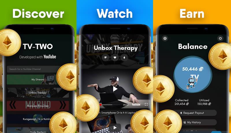 TV-TWO - Best Money Earning App