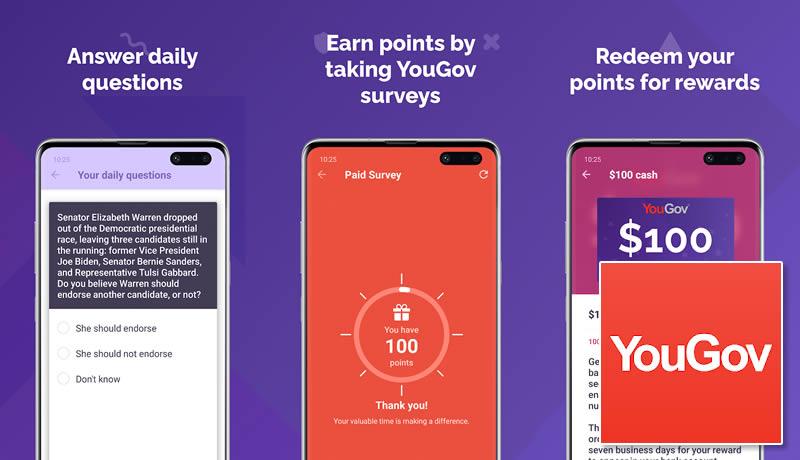 YouGov - Best Money Earning App