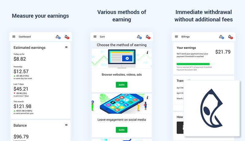 Zareklamy - Make Money Online for Free - Best Money Earning App