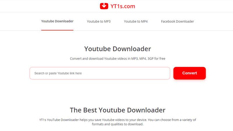 YT1s Youtube Downloader