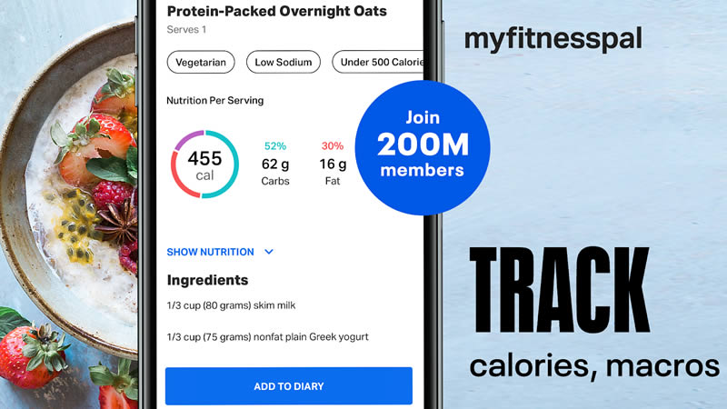 Calorie Counter - MyFitnessPal - Best Calorie Counter Apps