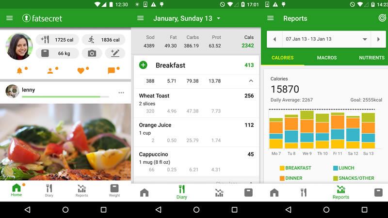 Calorie Counter by FatSecret - Best Calorie Counter App
