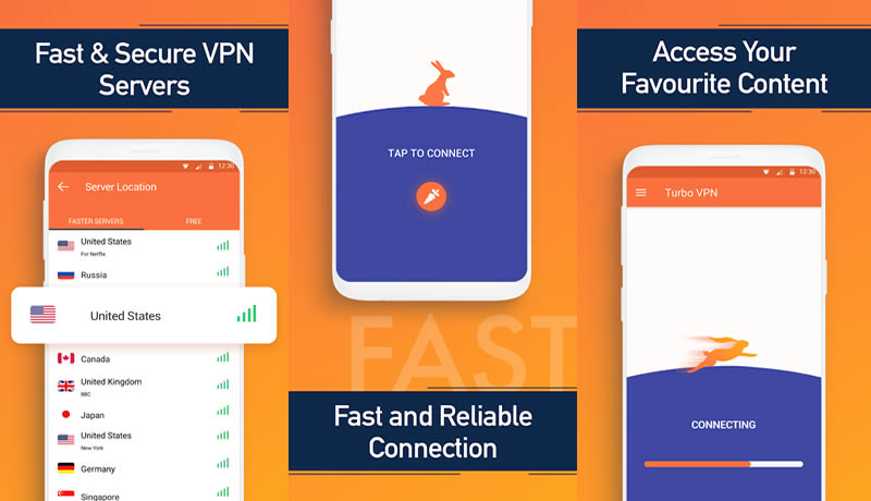 Download Turbo VPN- Free VPN Proxy Server & Secure Service By Innovative Connecting