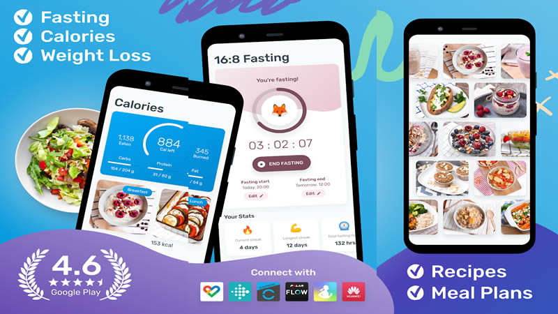 YAZIO Calorie Counter and Intermittent Fasting App - Best Calorie Counter App